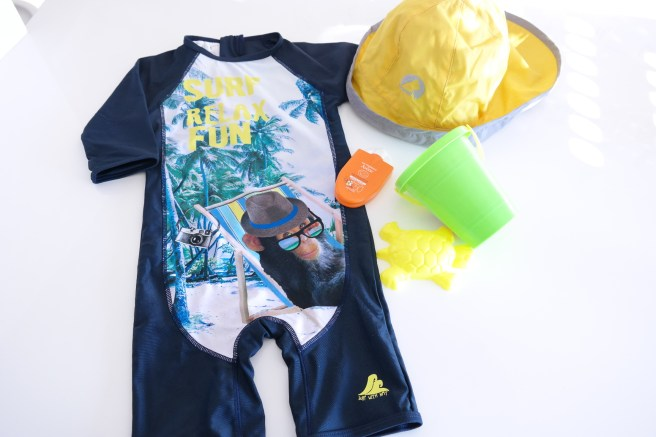Coole UV Kleidung für den Strand - Kindermode