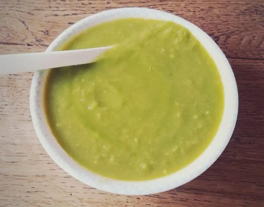 rezept frisch baby gesund Babybrei pak choi kartoffeln avocado