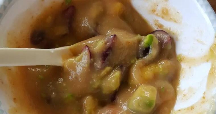 Frucht-Avocadobrei & Mittagsbrei mit TK-Spinat für Babys im 11. Monat