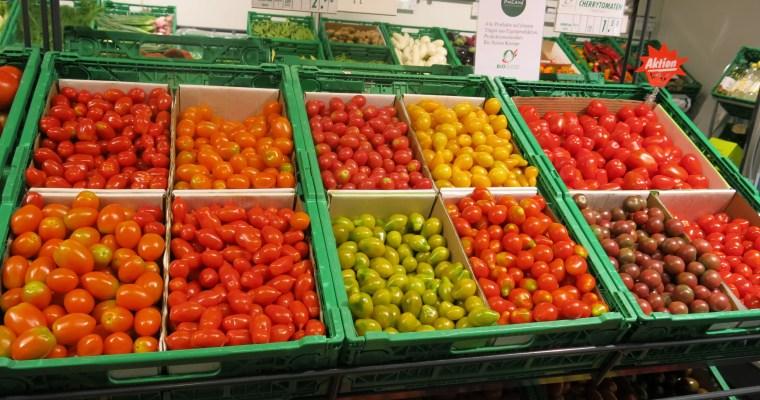 Sommervielfalt – Rezepte mit Pfirsich, Johnnisbeeren, Broccoli, etc.