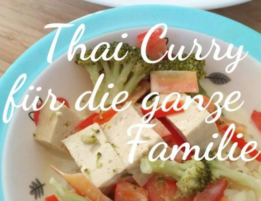 Thaicurry - Familienrezept, vegan, vegetarisch, Broccoli, Tofu