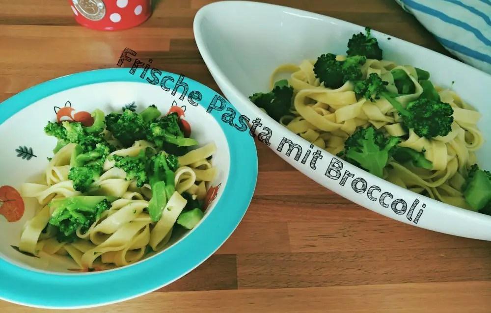 Schnelle vegane Broccoli-Pasta