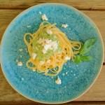 Broccoli-Pesto mit Linguine