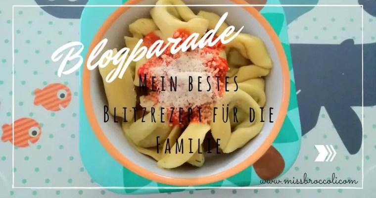 Blogparade: Mein bestes Familien-Blitzrezept