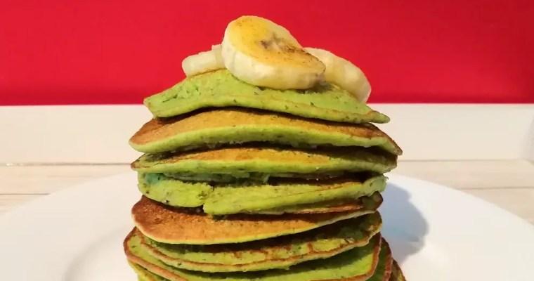 Blini mit Kale (Federkohl) #Kinderrezept