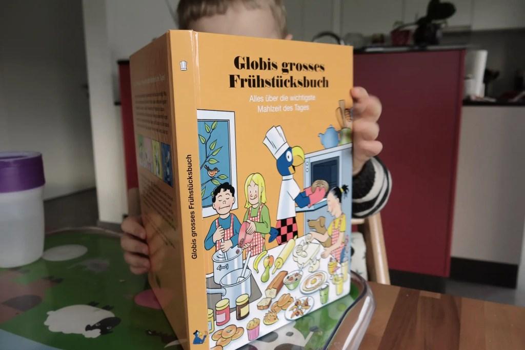 Globi Frühstücksbuch mit Kind