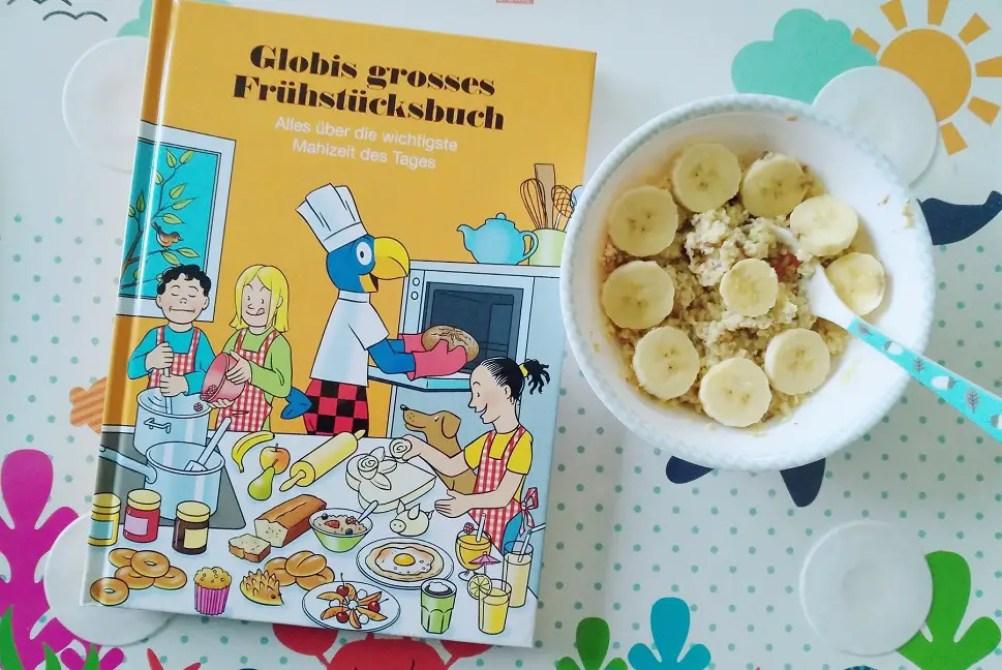 Globifrühstücksbuch mit Porridge