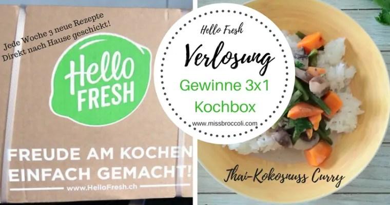 HelloFresh: inspirierende Rezepte nach Hause geschickt + VERLOSUNG 3×1 Menubox