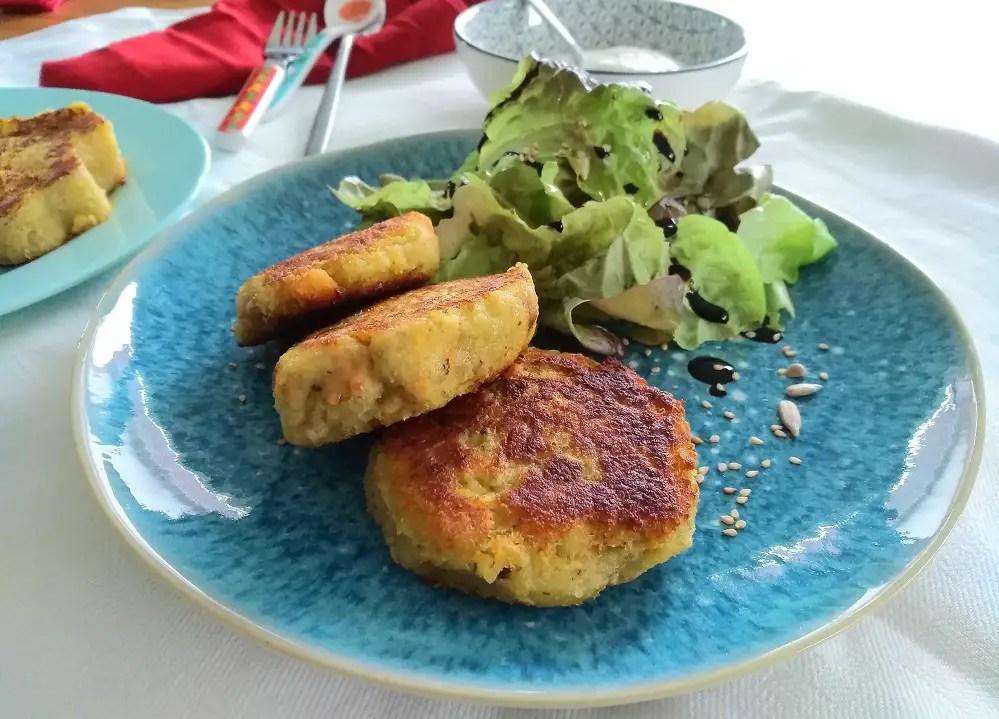 Kartoffel-Quinoa-Bratlinge
