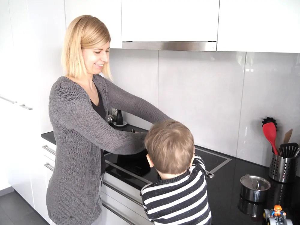 Mama Kind kocht kochen mit kindern