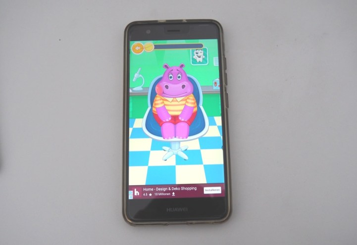 Zähneputzen App Smartphone Kinder