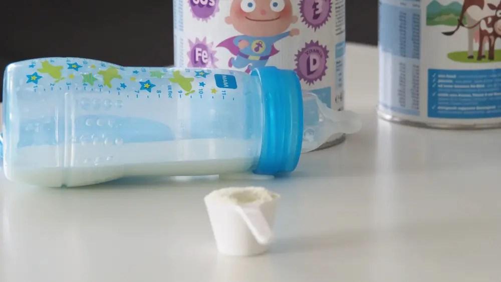 allergie milch unverträglichkeit bimbosan kindermilch alternative schoppen flasche baby