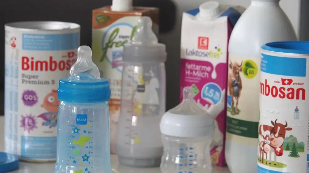 Kindermilch, Pulvermilch, Alternativen, Bimbosan, MAM BAby