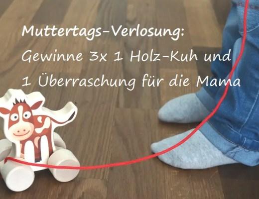 Holzkuh Trauffer Bimbosan Muttertag Wettbewerb Verlosung