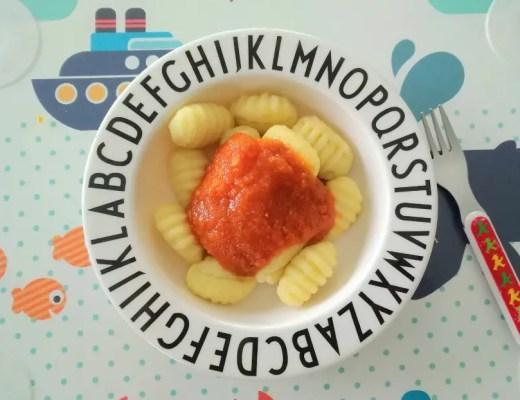 Gnocchi, gemüsesauce, gemüseverweigerer, sauce, tomatensauce, kinder, rezept, familie, schnelle küche, blitzrezept