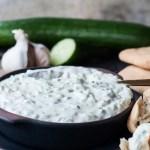 Tzatziki rezept kinder familie fladenbrot foodblog mamablog