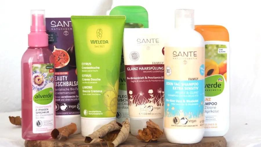 Naturkosmetik Schwangerschaft schwanger, lieblingsprodukte, tipps, weleda, santé, alverde, haare, shampoo, spülung, duschmittel