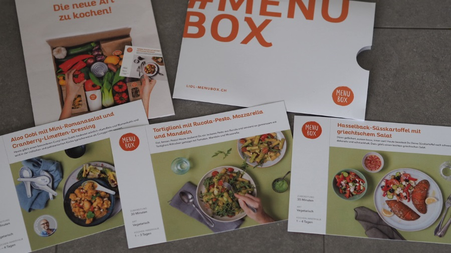 Lidl Menubox testbericht test kochbox online günstig foodblog schnell einfach kochen rezeptkarten rezepte