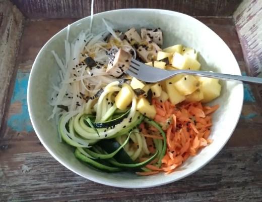 sushi, bowl, vegan, tofu, vegetarisch, rezept, gesund, eifach, mama, schwanger,, sauce, poké