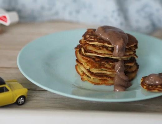 pancakes beeren apfelmus
