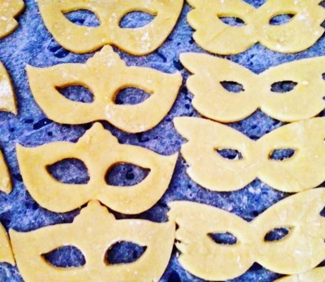 Mascherine biscotto da cuocere