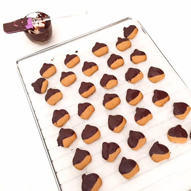 BISCOTTI CASTAGNOSI al cioccolato