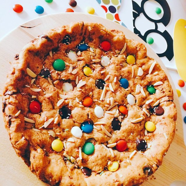 torta-cookies-con-gli-smarties