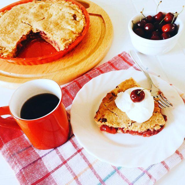 Cherry pie alla twin peaks_fetta
