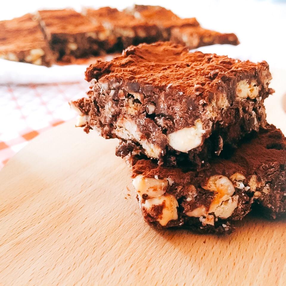 Brownies senza cottura di Martha Stewart