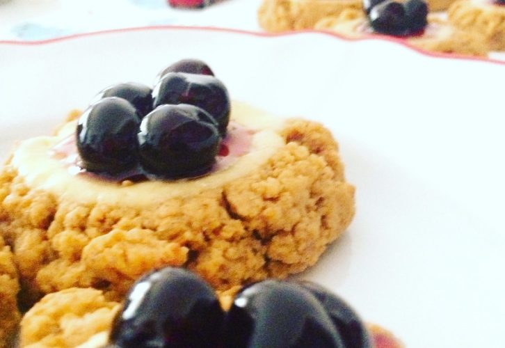 Cheesecookies e amarene