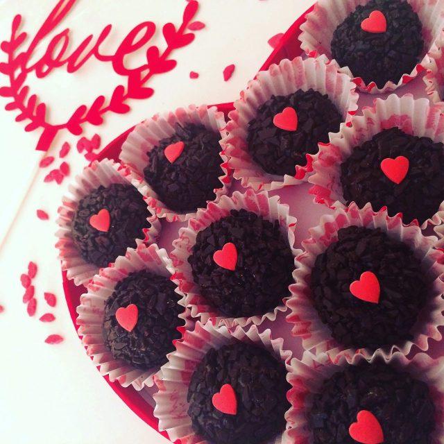 Brigadeiro al cioccolato_love