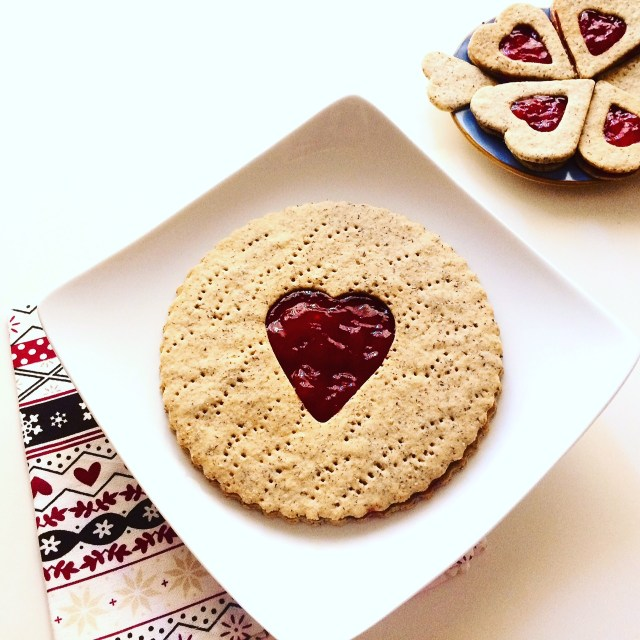 Maxi Linzer cookie_cotto