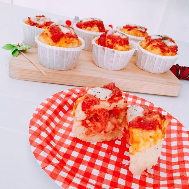 Pizza muffin senza lievitazione_interno