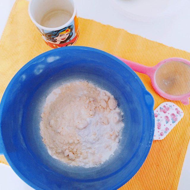 Cupcake Pan di limone_peparazione