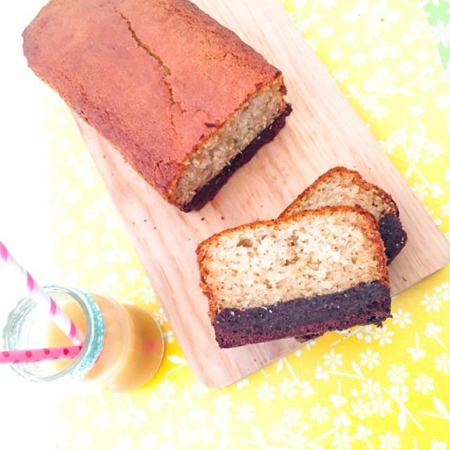 Brownies Plumcake su tagliere