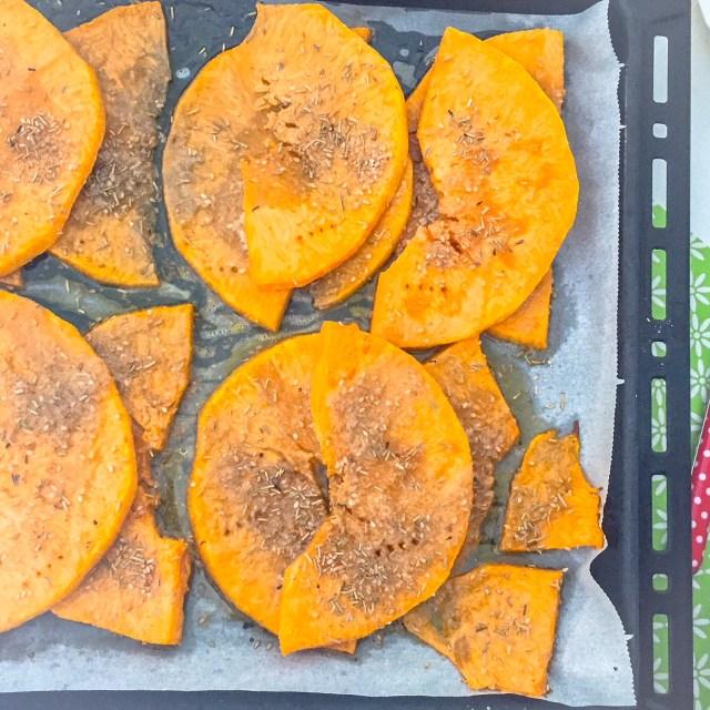 Polpette zucca e patate_zucca in forno
