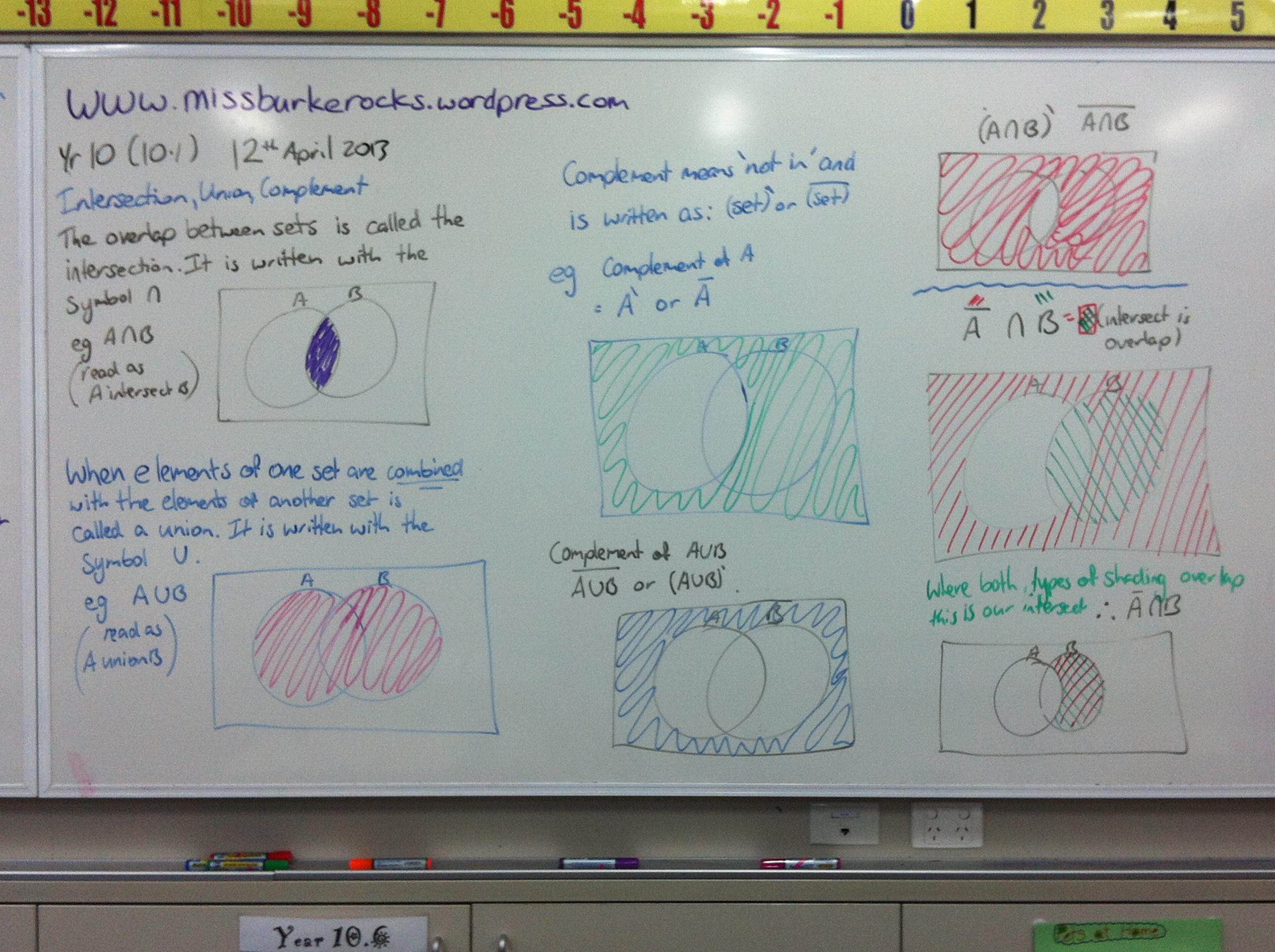 10ae Set Notation Venn Diagrams Two Way Tables Tree