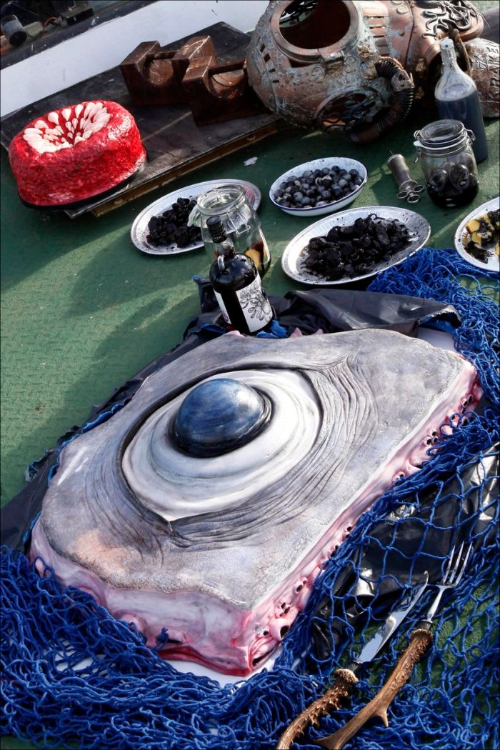 The Kraken Rum Edible Autopsy Miss Cakehead