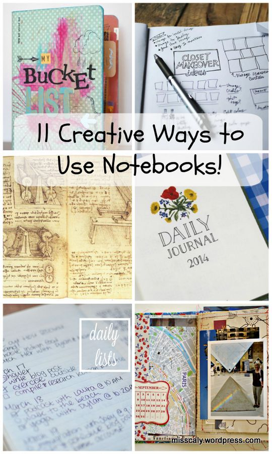 11 ways to use notebooks