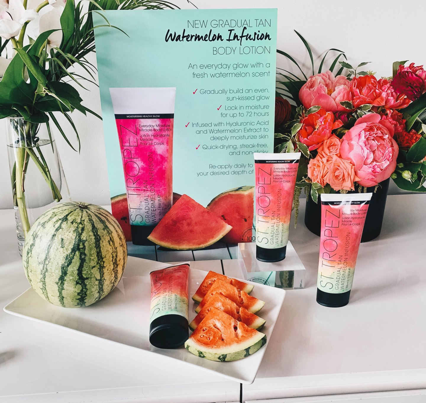 St. Tropez Watermelon Infusion Everyday Moisture Miracle Body Lotion