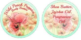 Wild Peach Poppies