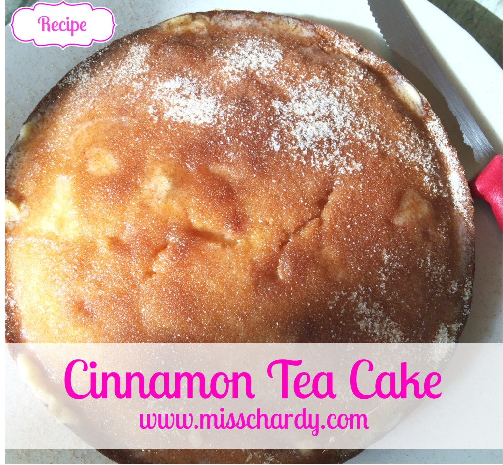 Cinnamon Tea Cake Recipe