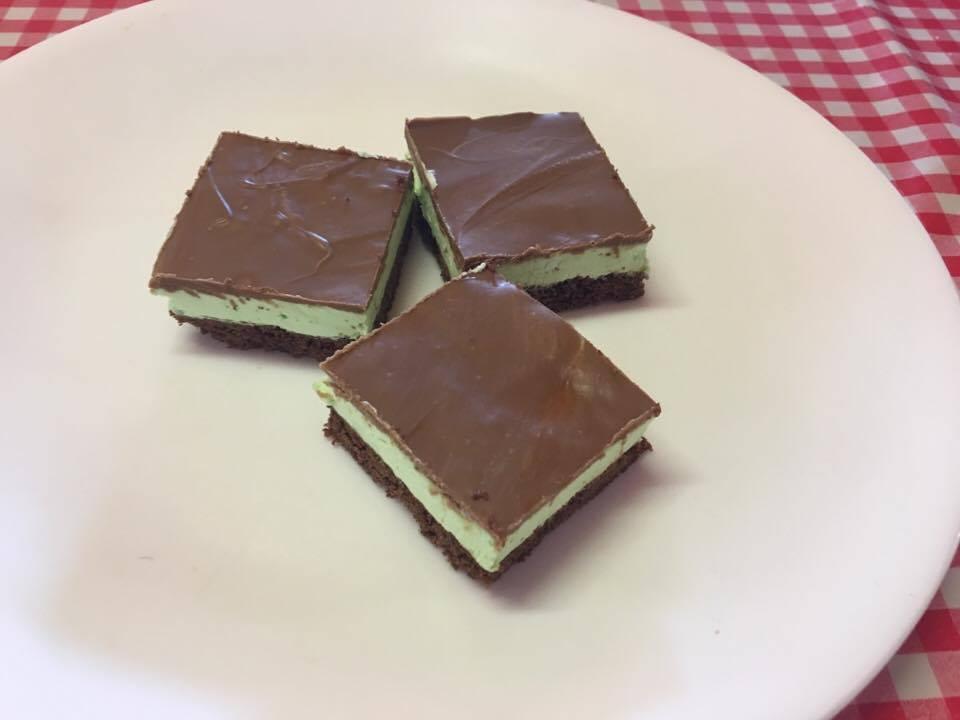 Aileen's Choc Mint Slice