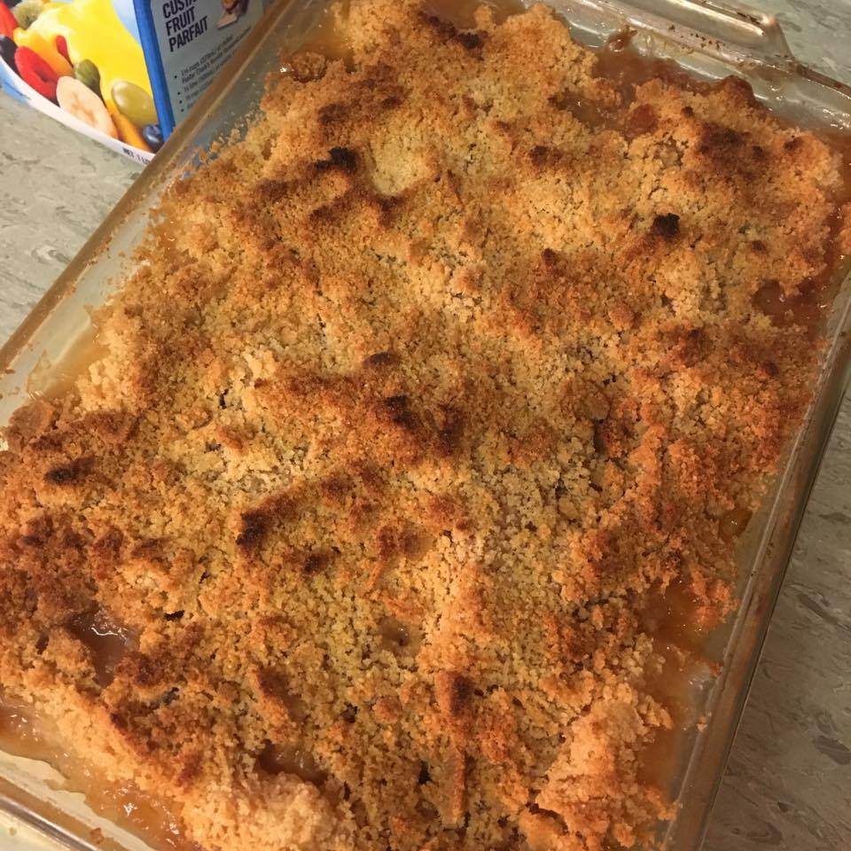 Apple or Pear Crumble