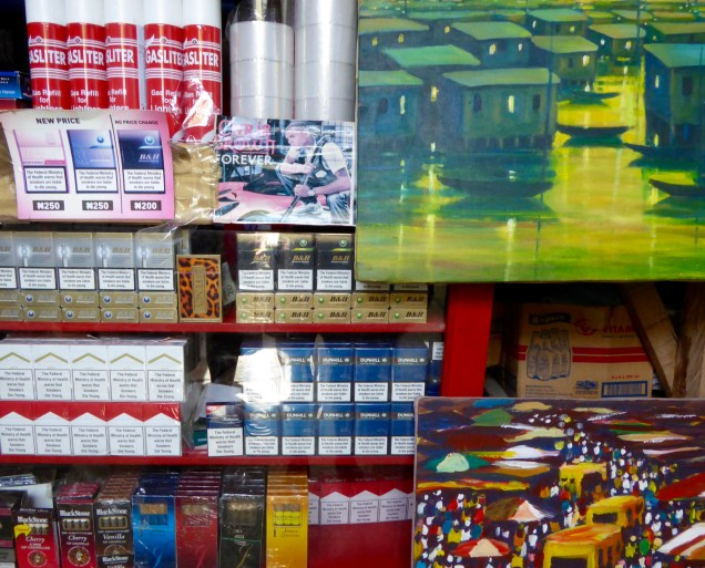 Paintings, lighter fluid and other sundries