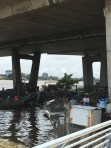 The fish market underneath Falamo Bridge