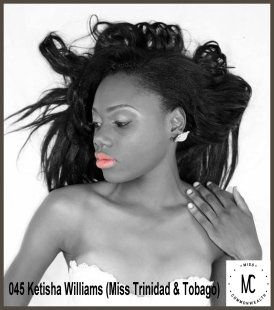 Miss Commonwealth Caribbean 2014-15 (TRINIDAD & TOBAGO)