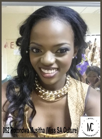 Miss Commonwealth Popularity 2014-15 (SOUTH AFRICA)