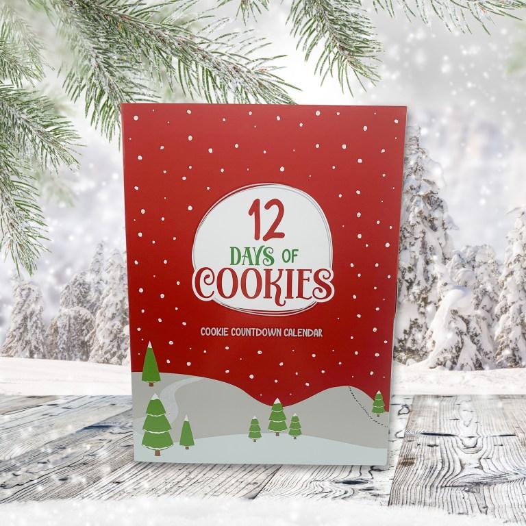 12 Day Cookie Advent Calendar