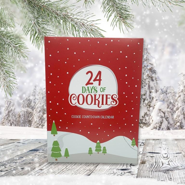 24 Day Cookie Advent Calendar